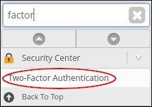 WebHost Manager - Two-Factor Authentication